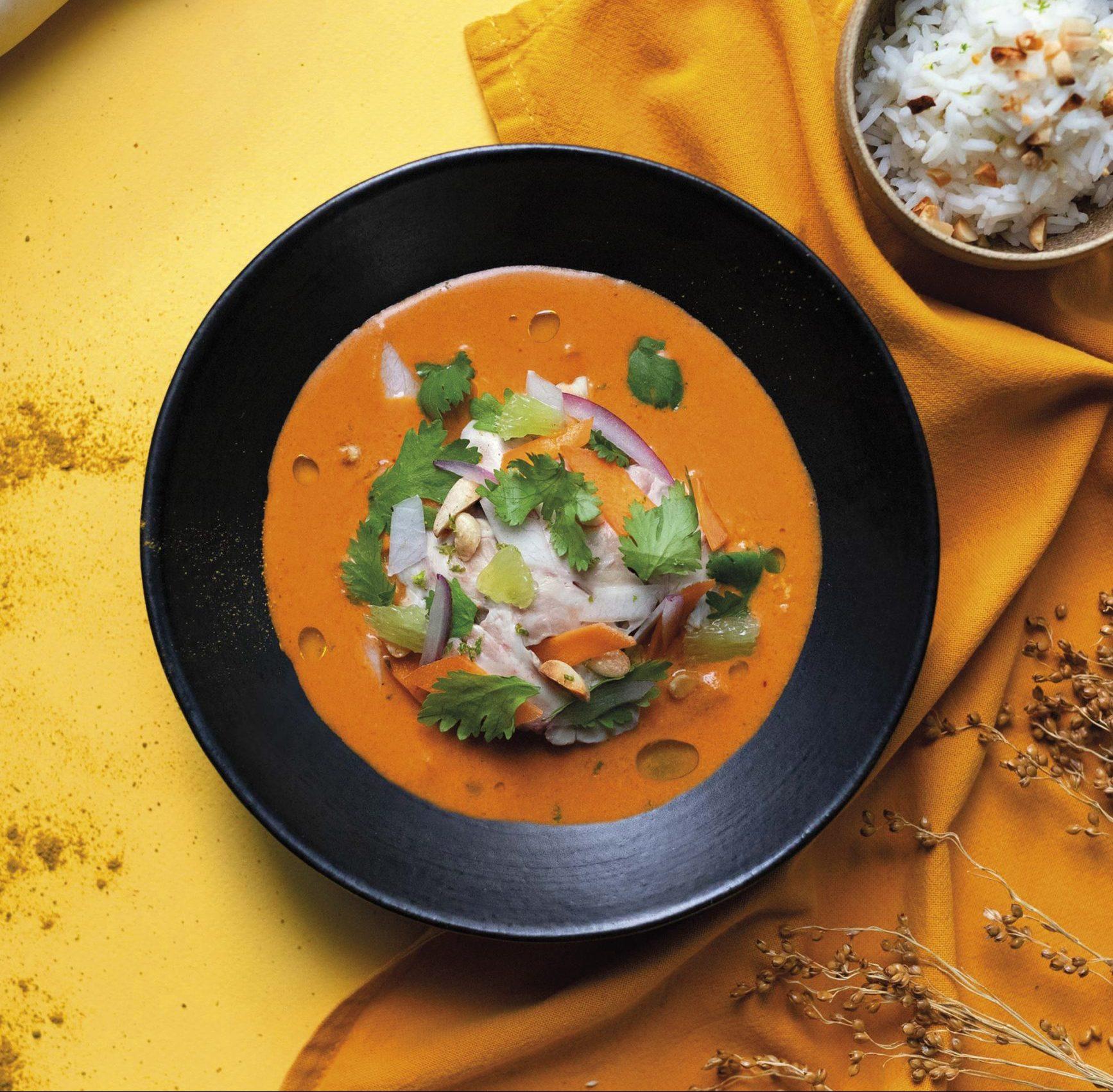 Curry de cervelle d'agneau